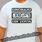 Grobari on tour - Majica bela