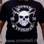 PFK Grobari - Majica crna